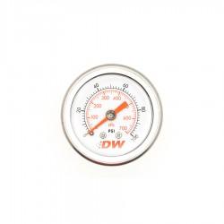 Manómetro presión combustible precisión para reguladores de combustible DW
