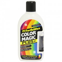 Turtle Wax cera color magic plus blanco 500 ml